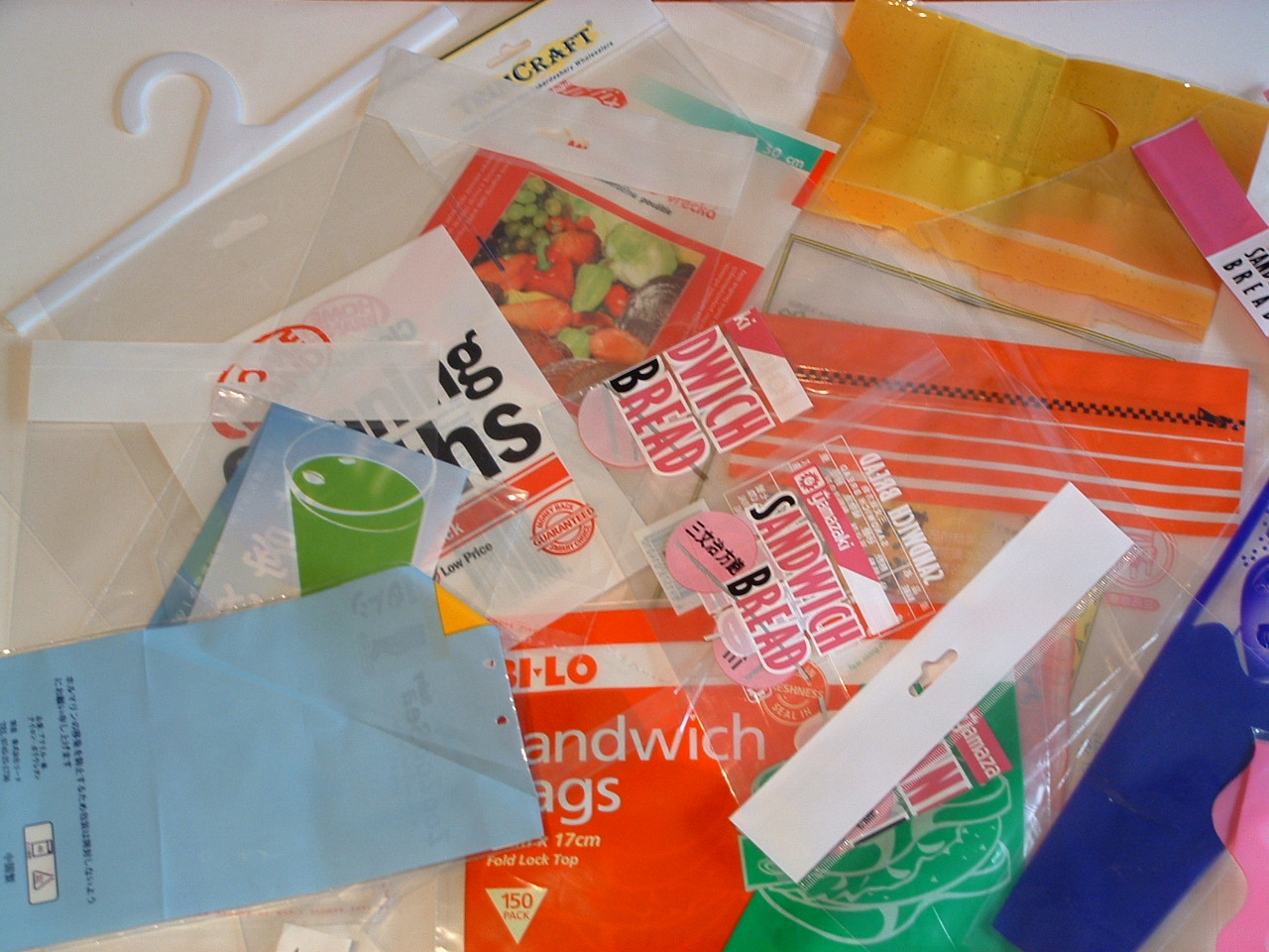 Bakery Film Bags, Pouches, PP-BOPP Self Seal Bags